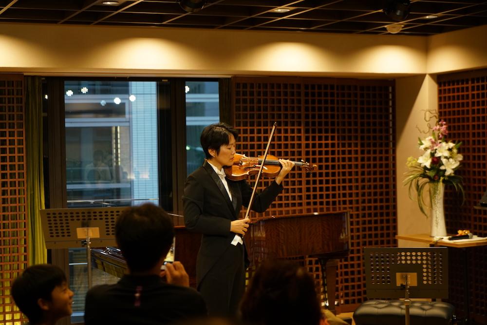 元コンサートミストレスによる、初!ヴァイオリンコンサート。